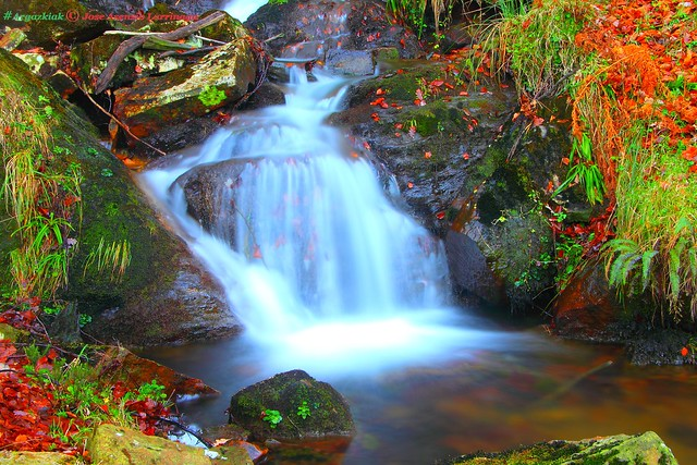 Cascada . Efecto Seda #Photography #Foto #Flickr 1
