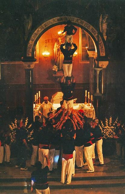 012 1995 Pilar a l'església i Diada del Gall