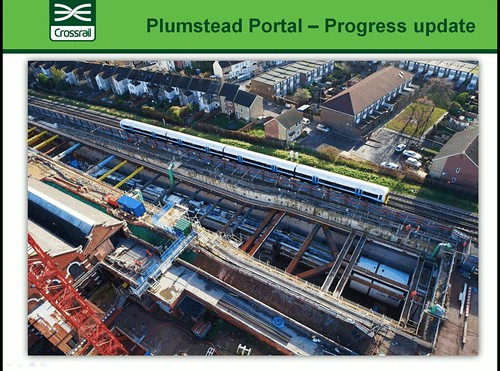 Crossrail Portal at Plumstead