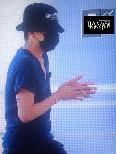 Big Bang - Incheon Airport - 05jun2016 - Forever TiAmo GD - 11
