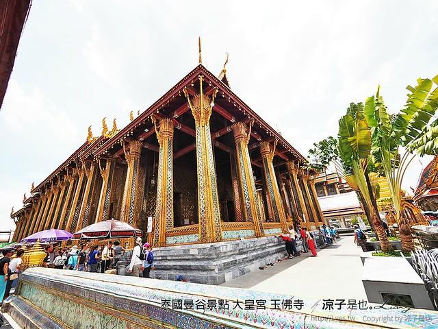 泰國曼谷景點 大皇宮 玉佛寺  37