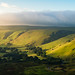 Morning light on Winnats Pass by David Raynham