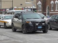 Cambridge Police Ford Police Interceptor Utility