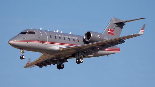 C-172 Royal Danish Air Force Canadair CL-600-2B16 Challenger 604