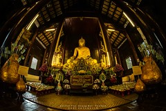 Wat Phan Tao - Temple previously in use as a palace in Chiang MaiWat Phan Tao - Temple previously in use as a palace in Chiang Mai