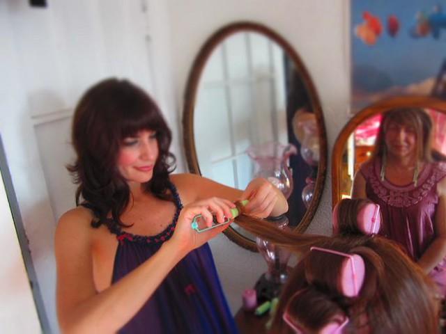 Sissies In Hair Rollers | blackhairstylecuts.com