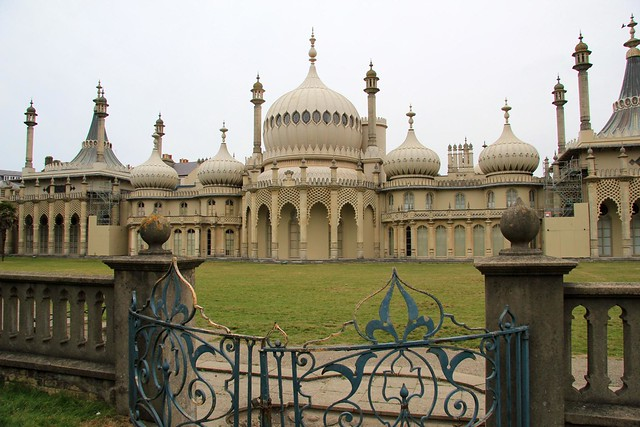 Royal Pavilion Palace in Brighton by flickr user karen_roe