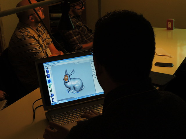 3D workshop at Metrix makerspace Seattle