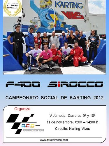 F400 Sirocco 2012 - 5ª Jornada