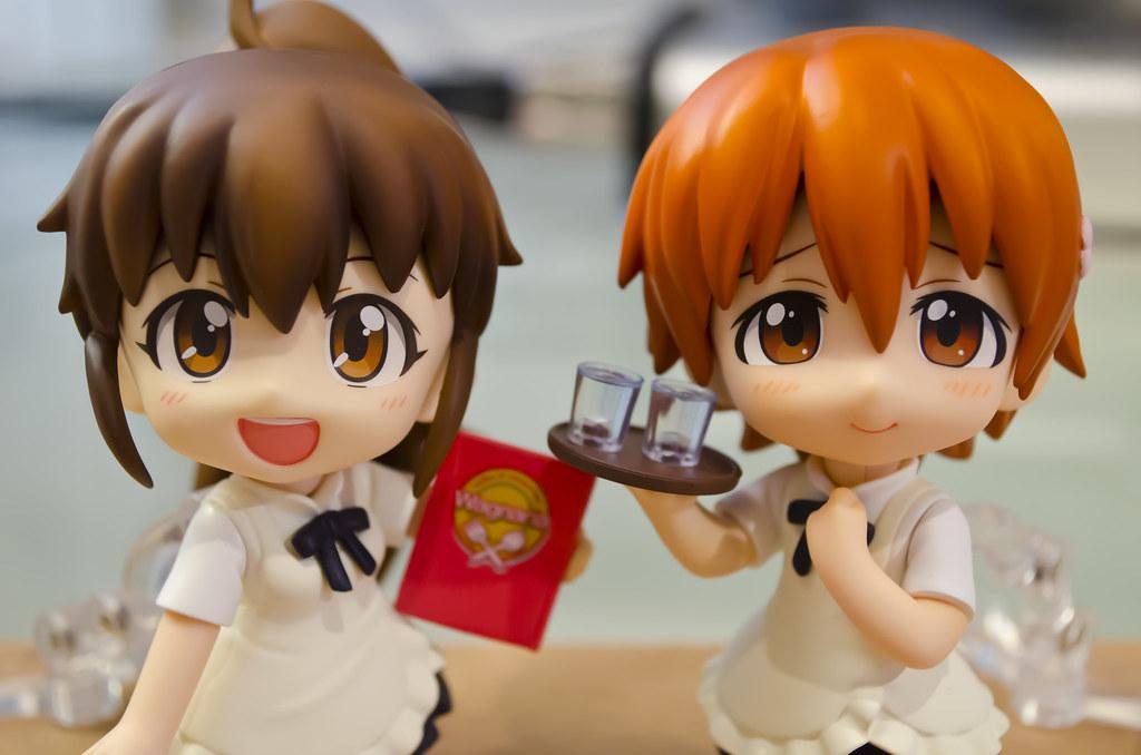 Nendoroid Popura and Inami