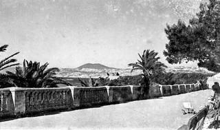 Un parc à Oran -  Photo JP Vasse (Retina Kodak)