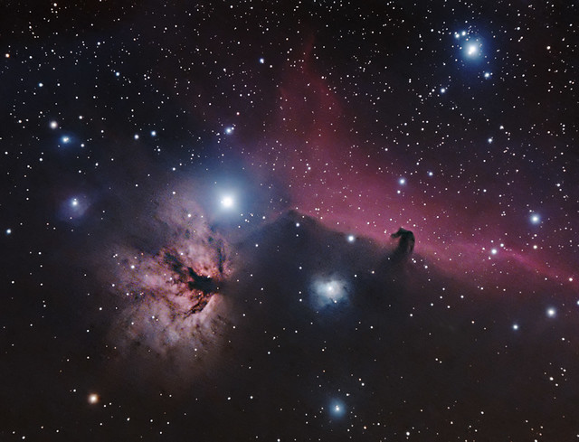 Horsehead and Flame 11 November 2012