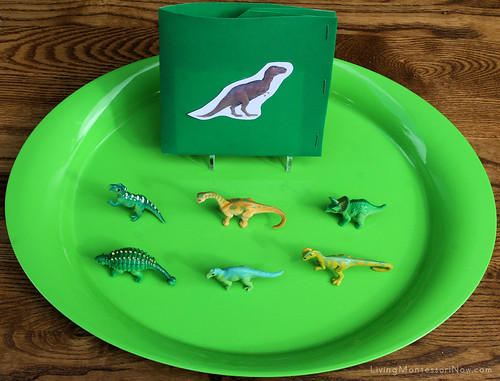 Dinosaur Matching with Cards