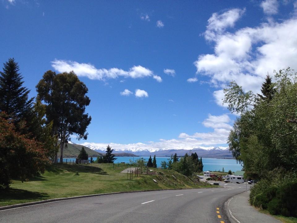 Lake Tekapo…..