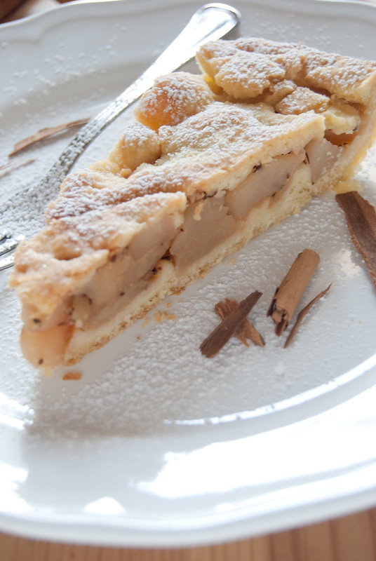Apple pie con frolla all'olio 2