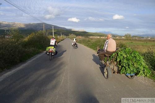 bicycle touring albania