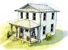 El Mirador house design for $46K (courtesy of Prince's Foundation)
