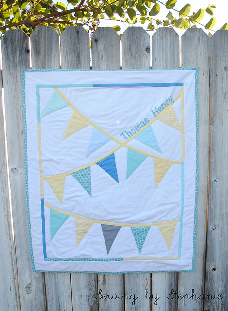 Bunting Quilt Comission