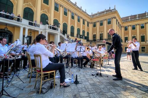 Band at Schönbrunn Palace