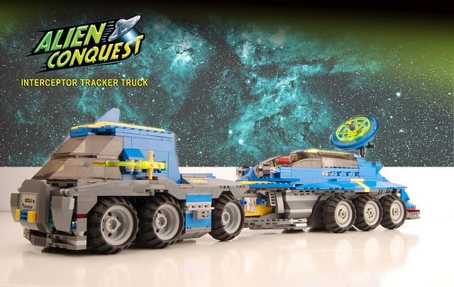 INTERCEPTOR TRACKER TRUCK - Concept Model