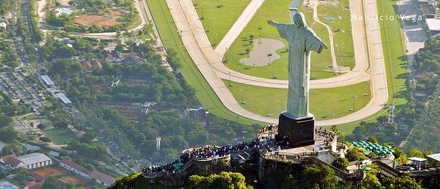 Monumento Cristo Redentor, Corcovado, Rio de Janerio, Brasil 2012