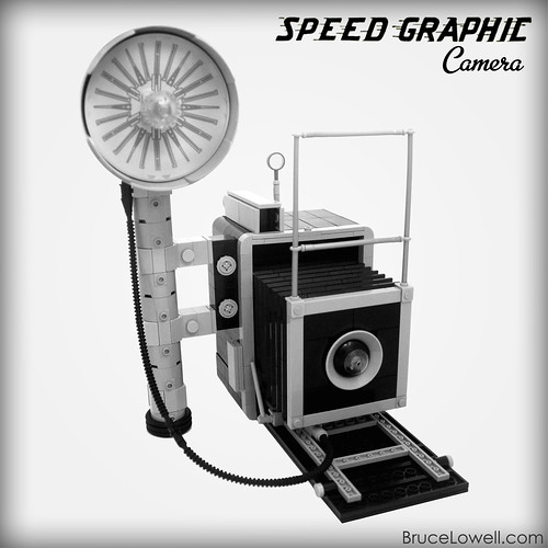 LEGO Speed Graphic Camera