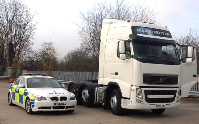 Day 319 - West Midlands Police - CMPG Heavy Goods Vehicle