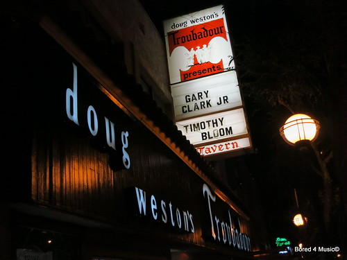Gary Clark Jr. & Timothy Bloom @ Troubadour [11/14/12]