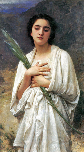 the palm leaf william bouguereau
