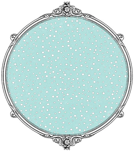 confetti snow dot paper day light turquoiseSAMPLE