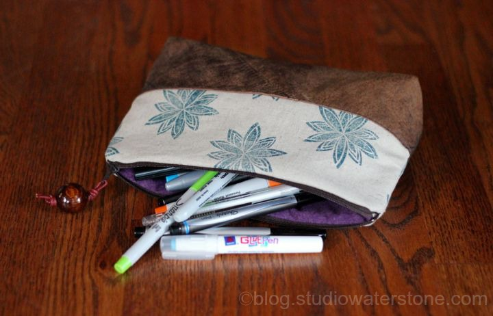 tall artist pouch - studio waterstone