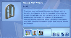 Classic Arch Window