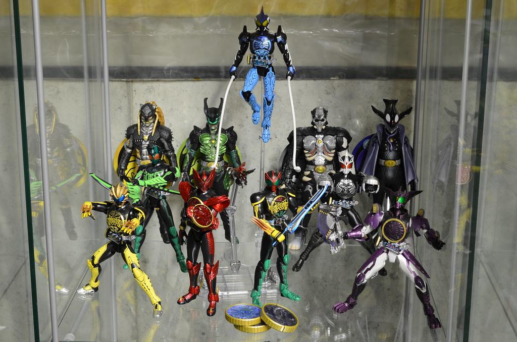 Kamen Rider OOO Display