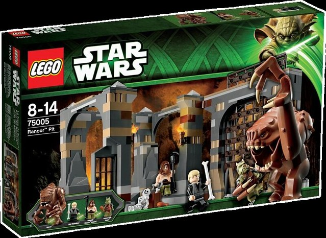 LEGO Star Wars 75005 – Rancor Pit - Box