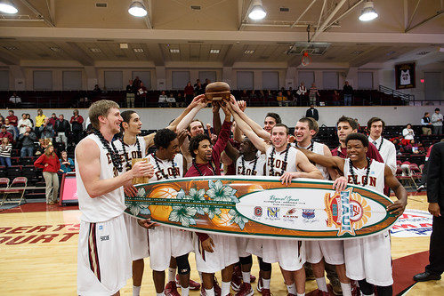 Elon Men's Baseletball Winners EA Sports Maui Invitational Regional 2012