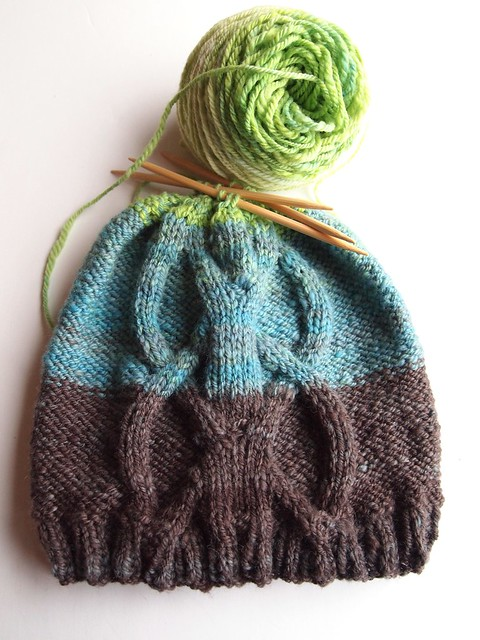 Metro yarn - Stormont hat by Kelly Ashfield