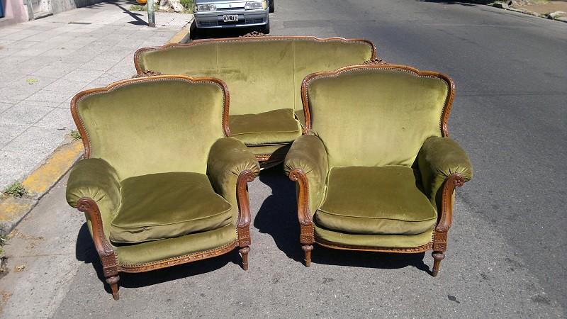 Juego de sillones living estilo frances luis xvi no ingles - Sillones estilo frances ...