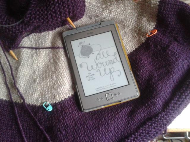 yarn along - a cape interlude