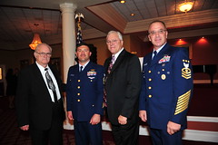 MCPOCG recognizes newly indoctrinated chief during Sector St. Petersburg CCTI dinner events.