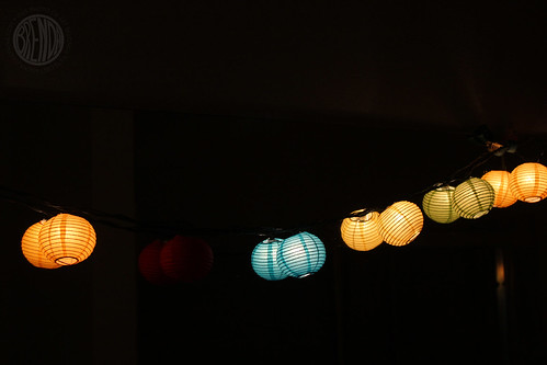 happy bathroom lanterns