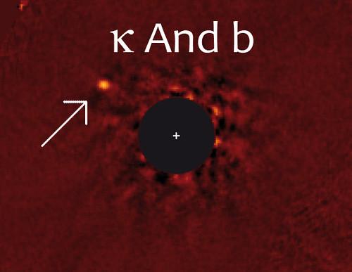 Kappa Andromeda b discovery image
