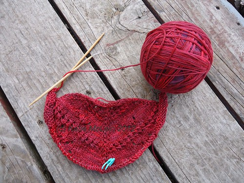 Loverly Shawl WIP