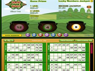 Lucky Numbers Bingo Silver Pot