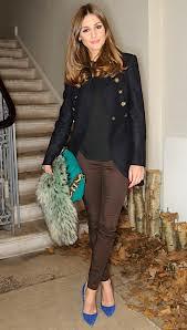 Olivia Palermo Bright Fur Trend Celebrity Style Women's Fashion