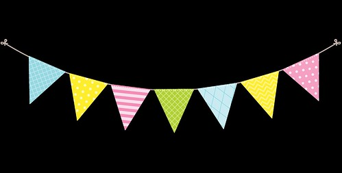 Bunting---Dots-and-Stripes---Rainbow---4
