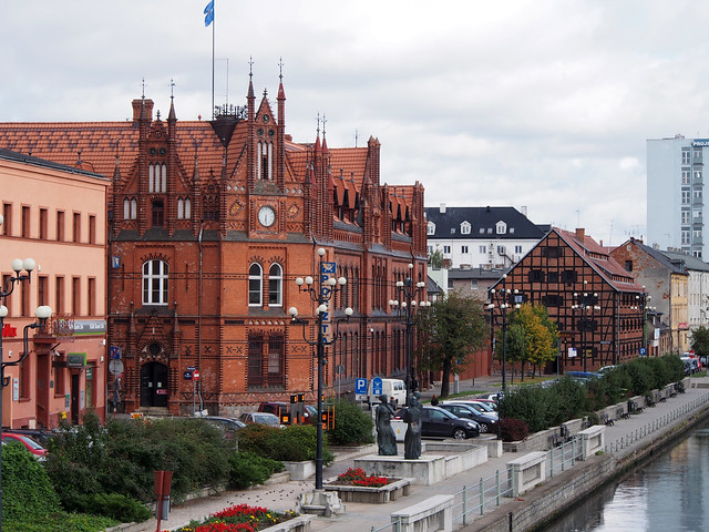 Bydgoszcz, Along The Brda River