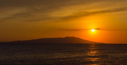 Sunset over Ōshima