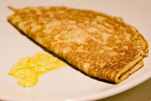 Mushroom Pancake แพนเค้กซอสเห็ด