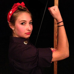Rosie the Riveter Costume 2