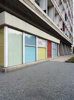 Unité d'Habitation (Wohneinheit), Le Corbusier, 1956-1958. / 112011